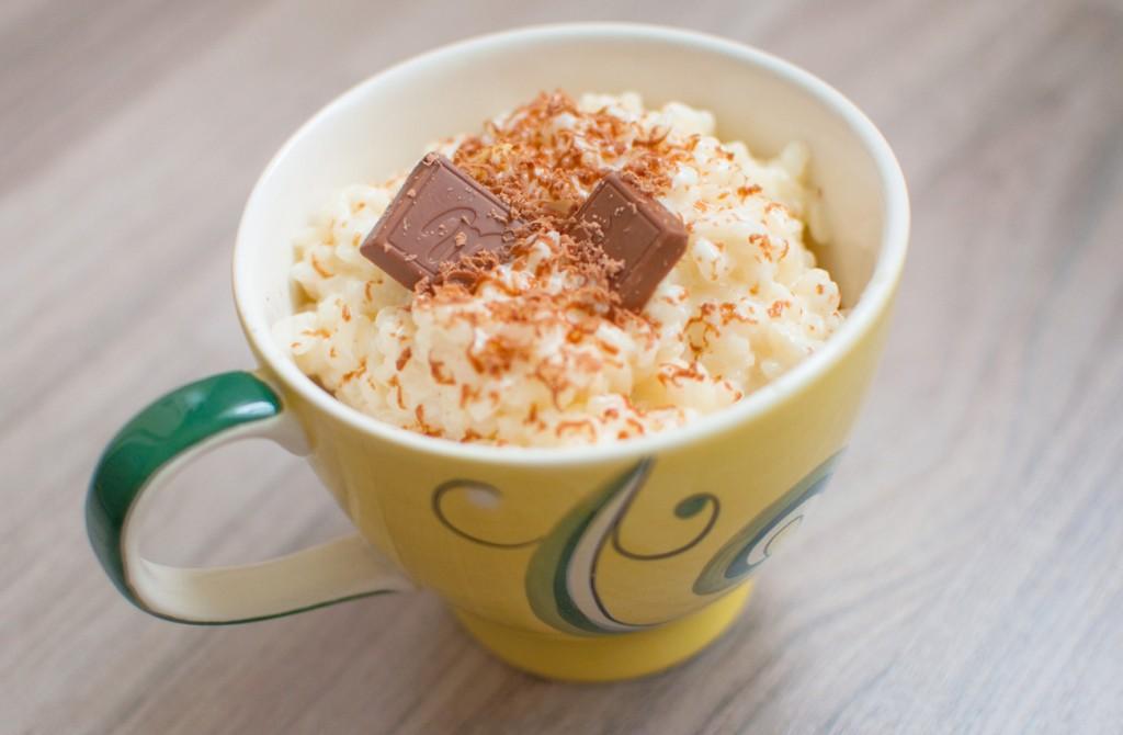 Milchreis mit Schokolade